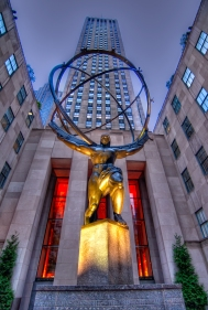 An exciting opportunity to go inside Rockefeller Plaza.